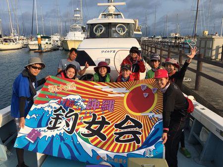 沖縄釣女会4月釣行会『ディープエジング(エギング)』