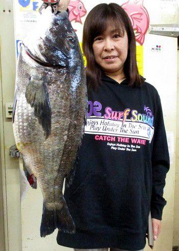 ルアーDEデッカイ 黒鯛釣れました