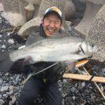 長崎県平戸市のヒラスズキ釣り!ヒラスズキ釣り初心者がまぐれを期待してヒラスズキをルアーで狙う!!